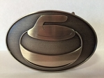 Curling Belt Buckle