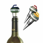 Curling Rock Wine Bottle Stopper