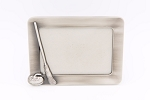 Curlers Corner Exclusive Pewter Picture Frame
