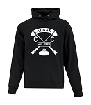 Calgary Curling Club Full Vintage Hoodie