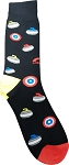 Graphic Curling Socks