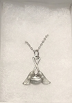Rock & Broom Necklace